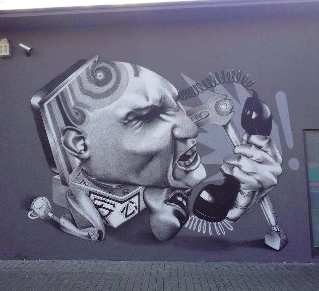 Художник – Claudio Ethos / Стена – Кельн, Германия