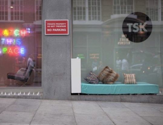 Anti Anti-Homeless Spikes