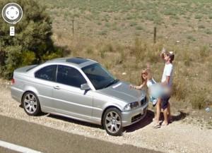 14 безумных кадров, снятых камерами Google Street View