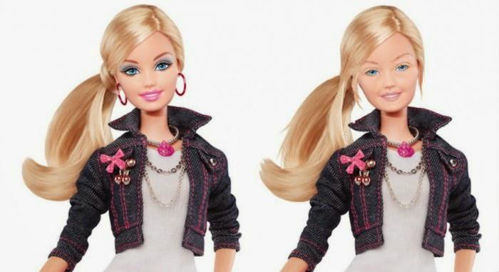 Ненакрашенная Барби. В компании отказались от куклы без макияжа.