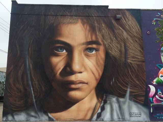Художник – Jorit Agoch / Стена – Нью-Йорк, США