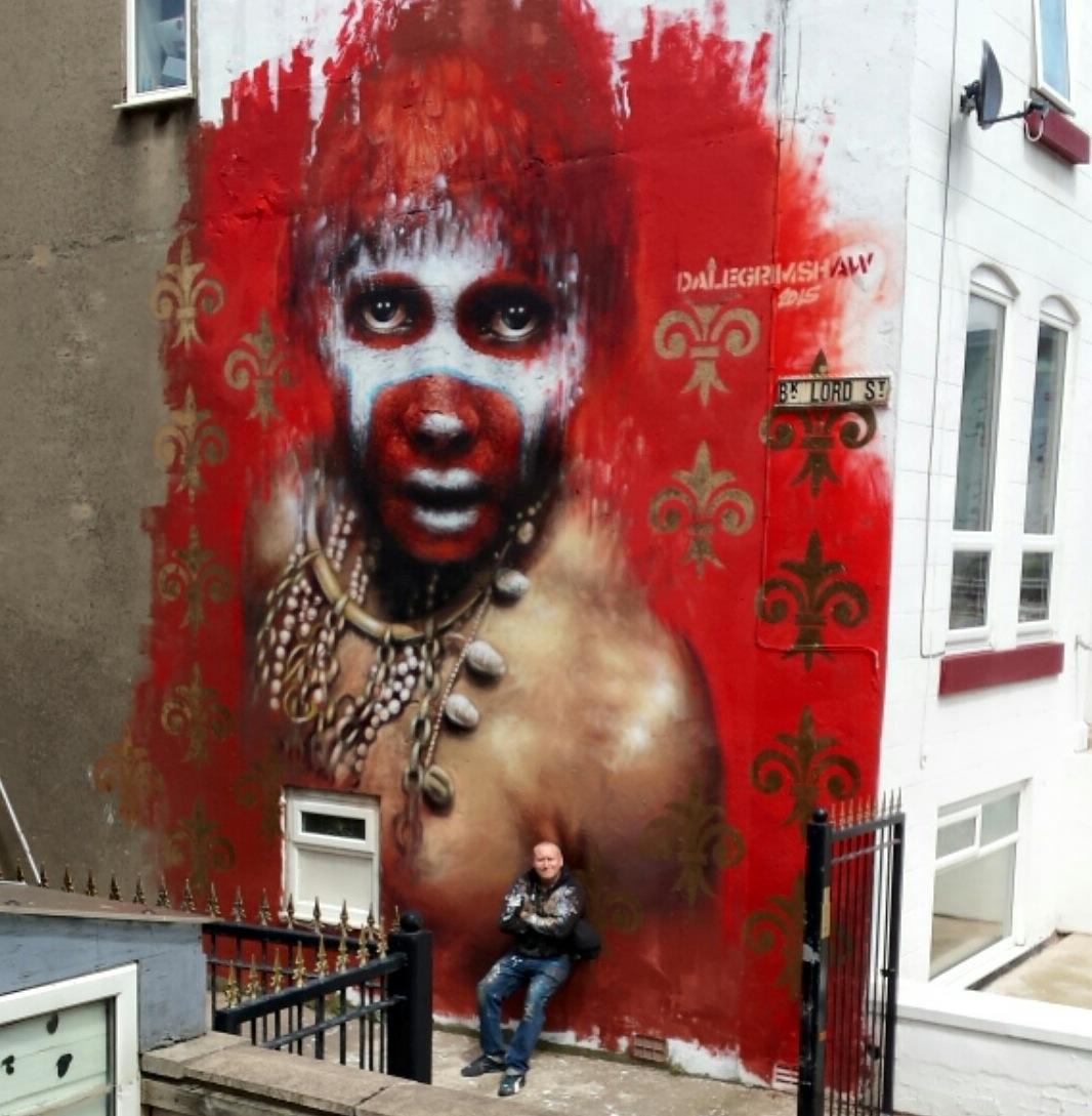 Художник – Dale Grimshaw / Стена – Блэкпул, Великобритания