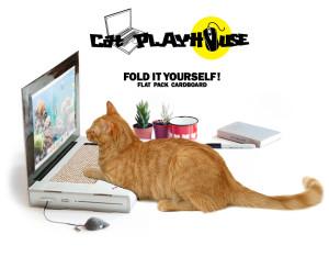В Британии изобрели кошачий ноутбук