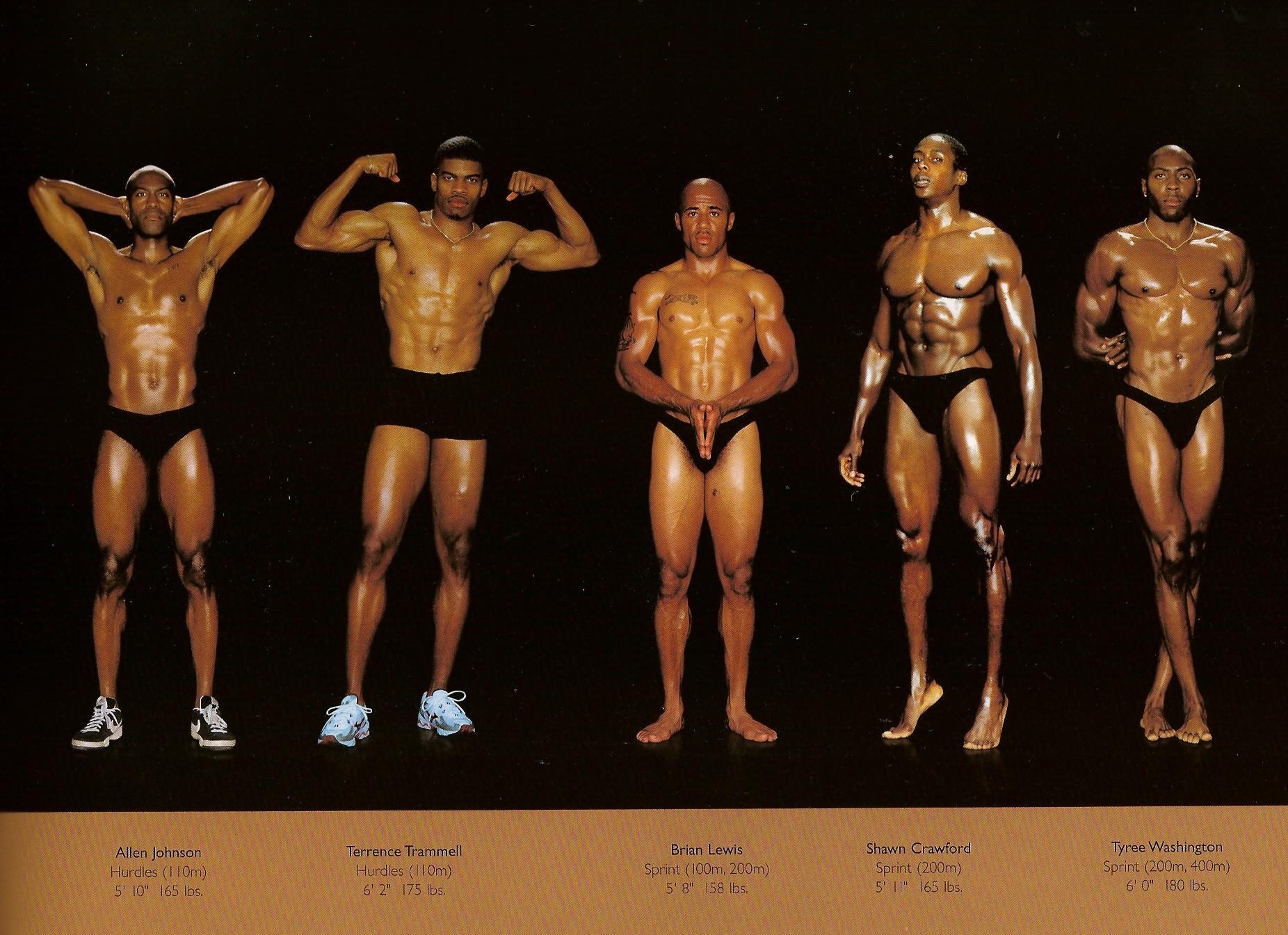 Howard Schatz / слева направо: барьерный бег, тоже барьерный бег, спринт, тоже спринт, тоже спринт.