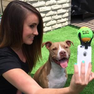 Приспособление для идеального собачьего селфи