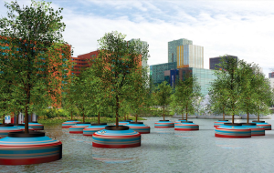 В Роттердаме появится плавающий лес