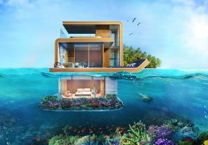 Подводные виллы – мечта, ставшая реальностью