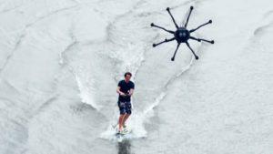 Дрон-сёрфинг – новый нескучный вид спорта