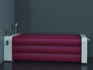 Надувная ванна — решение для маленьких квартир
