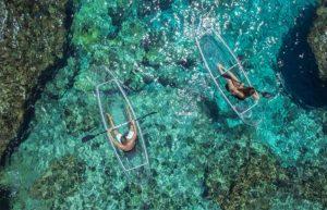 Прозрачная лодка — для гребцов-эстетов