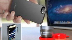 Итальянцы разработали телефонный чехол-кофеварку