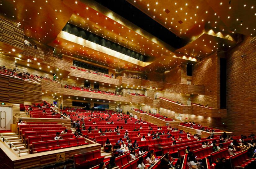Оперный театр в Китае