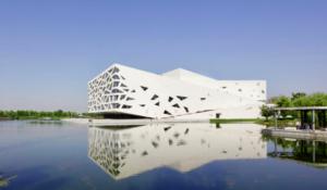 В Китае построили оперный театр в виде айсберга