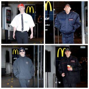 Мужская мода в стиле McDonald's