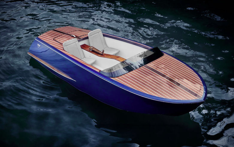 Красивая лодка