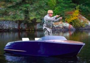 Мечта рыбака — бесшумная дизайнерская электролодка