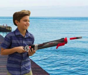 Удилище-ружьё для начинающих рыбаков