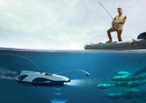 Подводный дрон для нескучной рыбалки