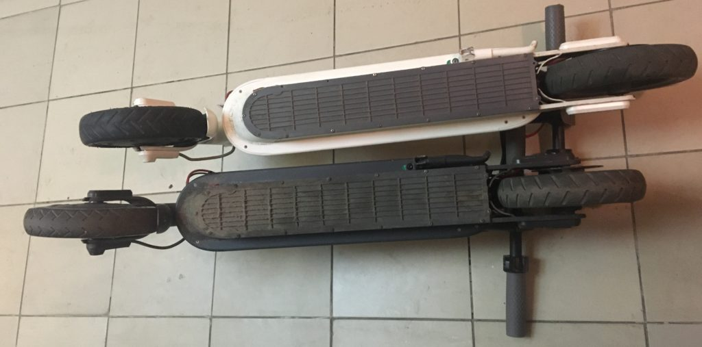 Крышка днища электросамоката Xiaomi Mijia M365