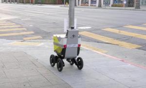 Uber займётся производством роботов-курьеров