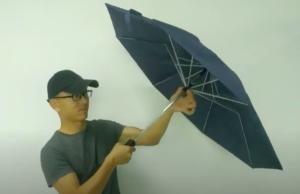 Китайцы придумали зонт будущего